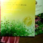 cafe&greenれんげハウス5月の庭とメディカルハーブ